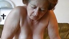 Three episodes with old sexy grannies being fucked