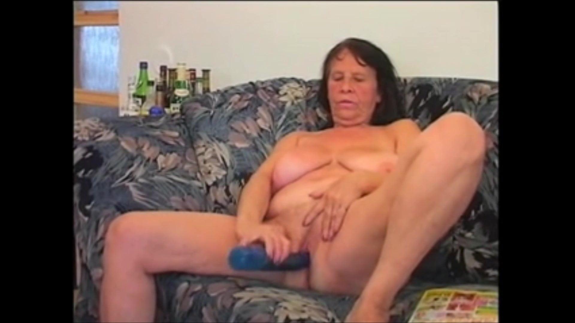 Blonde Girl Massive Cock
