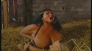 Fat Gypsy Jodiza fucking in the hay