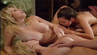 Jenna Jameson and Kylie Ireland Group Sex (4K Upscale)