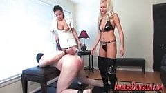 A Test for Two - Mistress Amber and Mistress Kiss short prom