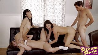 Threesome Company-Three May Be Company, But Four Is A Party!