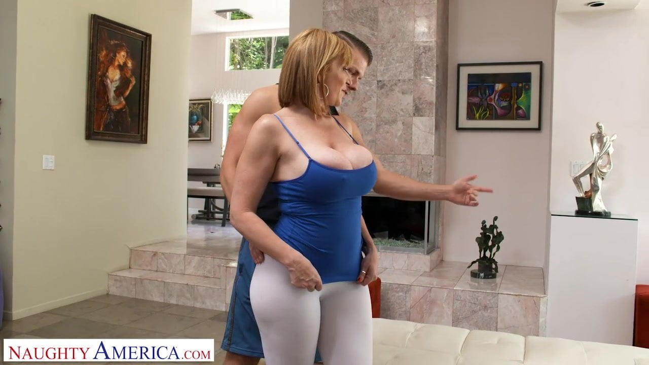 Big Ass Milf Fucks Step Son