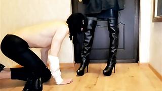 The Faithful Slave Meets His Mistress