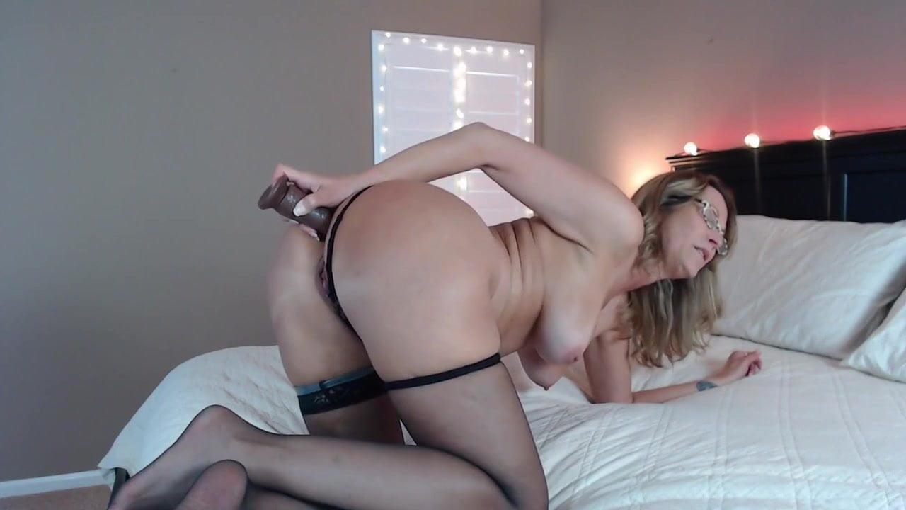 Ass Sit In Vibrador Gif Porn mature ass dildo stuffed