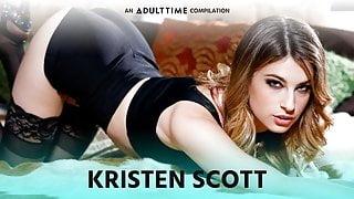 ADULT TIME  Kristen Scott's Amazing Lesbian Sex Compilation