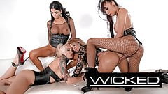 WickedPictures - jessica drake Orgy With 3 Trans Superstars