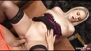 Darina Vanickova in black stockings & Roxy Taggart Thresome