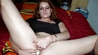 Check My MILF redhead amateur wife with big pussy lips