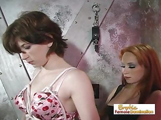 Brave nudes - Brave slave girl proves to be a great slave