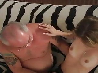 Mature with old - Young blonde with old fart