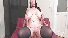 Big Natural Tits Bouncing Up & Down #168