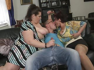 Free hot mature mothers pussy Hot party with 3 mature mothers and boy
