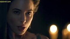 Lucy Lawless Nude Sex Scene In Spartacus ScandalPlanet.Com