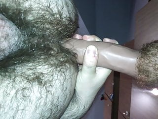 Pussy shaved small tit
