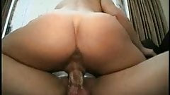 Teen blonde loves to ride big cock