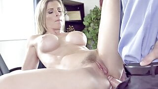 PUREMATURE – Mature Manager Gives Up Anal To Interviewer