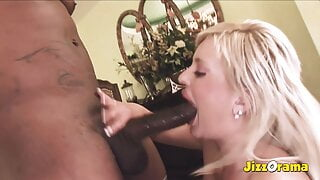 Jizzorama - Big Tits Babe Begs for Anal Creampie