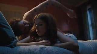 Anna Kendrick fucked from behind, bored