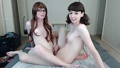 Sexy Teen Trannies Playing 5 - cassianoBR