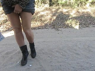 Milf models mature Modeling my boots