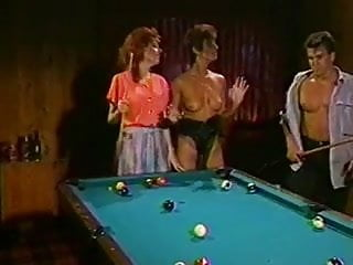 Vintage tea table - Sharon mitchell and friend fucked on the pool table