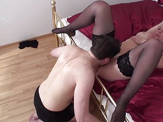 Slave loves to lick pussy Fetish divas order slaves to lick their pussies