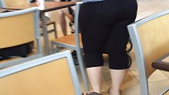 Thick ass milf in spandex Part 1