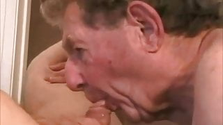 Grandpas sucking