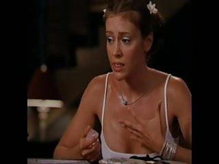 Alyssa milano naked galleries Alyssa milano braless and hard nippel