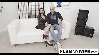 Hot MILF gets her pussy and asshole filled up