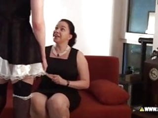 Male spank central Lena k punishes the male maid