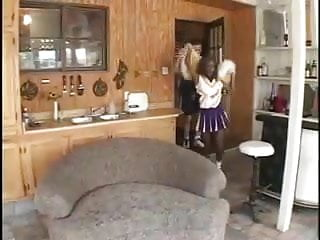 Cheerleader ebony teen Ebony cheerleaders 8 scene5