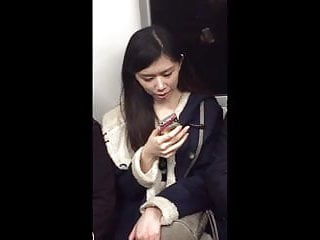 Naked assians Candid beautiful assian lady on subway