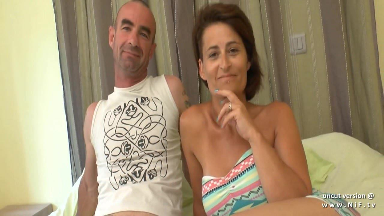Amayeur France Porn busty amateur french wife dp and cum covered in a gangbang