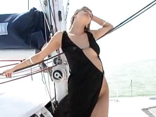 Sexy naked photos on boat Sexy blonde fucked on boat