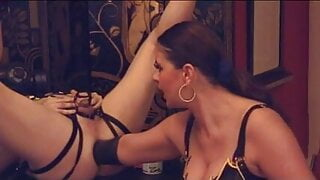 Deep fist fucking and arm fucking by German mistress