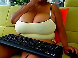 Cumshots on big breasted bimbos Breasted bimbo ebony wants to show you her enormous boobs