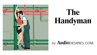 The Handyman (Bondage, Erotic Audio Story, Porn for Women)