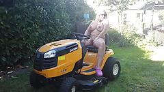 Nude in my garden