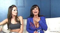 Lisa Ann talks anal sex, interview