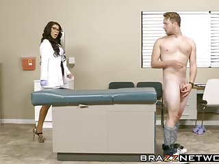 Nuts in cunt Naughty big boobs milf doctor taking hard stiff cock in cunt