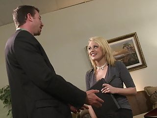 Raised fist video - Big tits hot blonde secretary gets the raise she wanted easy