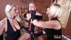 strap  on queens milking ock