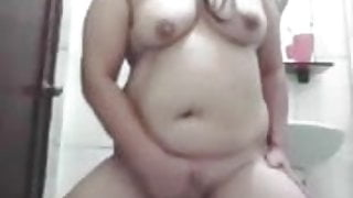 Pinay Mature Maid Striptease, Fingering