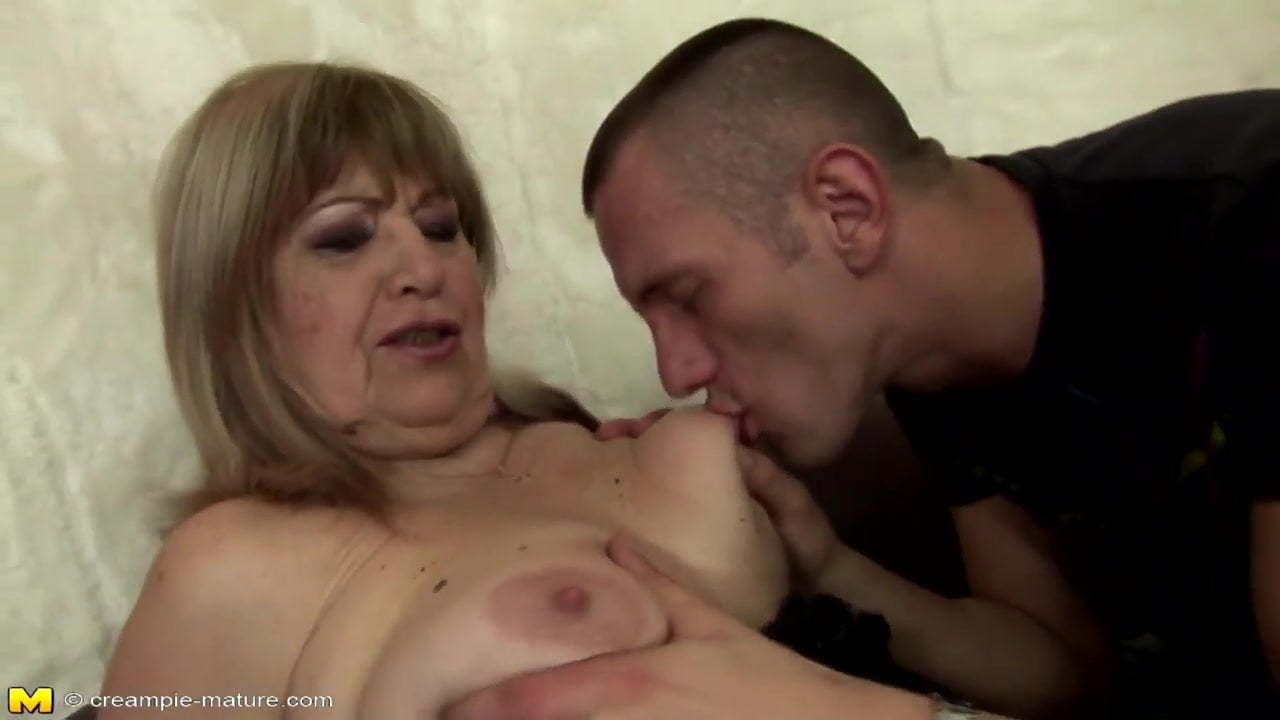Milf Jerks Off Young Guy