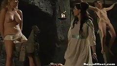 Beautiful lesbian slave tears of Rome part 2
