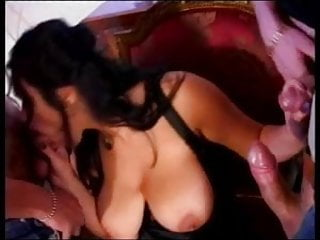 Penetrate hair follicle The hottest dark haired slut
