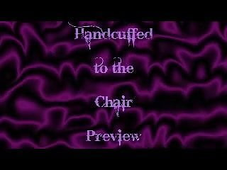 Bbw broke chair - Handcuffed to the chair
