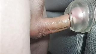 Cumming five times